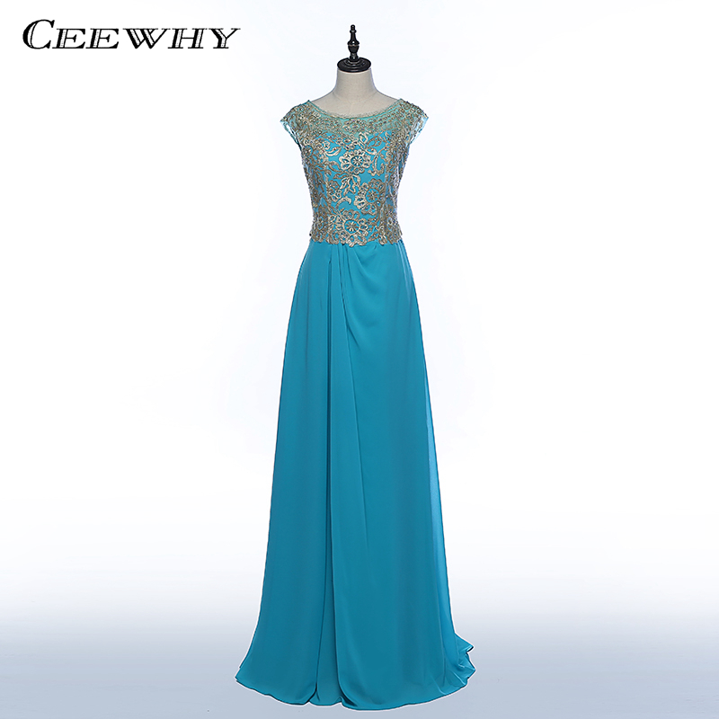 edbcbab773b28e CEEWHY Embroidery Formal Dress Long Chiffon Evening Dresses Evening Gowns  Prom Dress Abendkleid Lang Vestidos de Gala de Noche