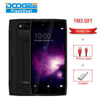 DOOGEE S50 Smartphone IP68 Waterproof Face ID 5 7 18 9 6GB 64GB 5180mAh 4 Cams