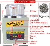 Manufacturer!!! KD/KT 185 Magnetic Tumbler Jewelry Polisher Finisher Finishing Machine, Magnetic Polishing Machine AC 110V/220V