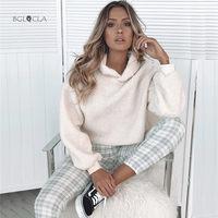 2019 Winter Casual Women Hoodies Top Sweatshirts Female Solid Pullovers Autumn Sweatshirt Women\x27s with a Hood for Woman Tops