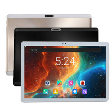 2018 New Android 7.0 Deca Core 4G LTE 10 inch Tablet PC 4GB RAM 128GB ROM 8.0MP WIFI Tablets 2.5D Tempered Glass IPS 1920X1200