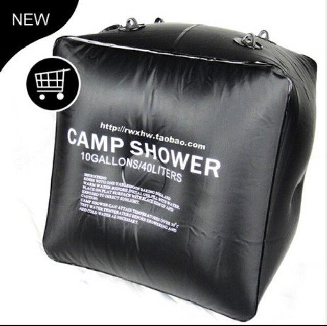Fashion Black Sun Shower Bag