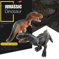 MOMEMO 1pcs Giganotosaurus PVC Jurassic World Dinosaur Model Animal Action & Toy Figures Dinosaur Toys for Boys Toys Hobbies
