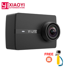 "International Xiaomi YI Lite Action Camera Real 4K  Sports Camera Bluetooth 16MP EIS WIFI 2""  Touch LCD Screen 150 Degree Lens"