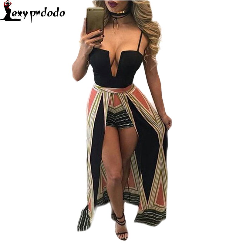 Strapless Geometry Design Printing Sling Slim Nightclubs Dresses 2016 New Arrival Hot Sale Summer Adults Sexy Club Women Dress