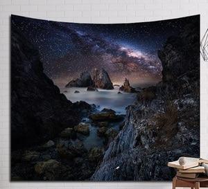 Image 2 - CAMMITEVER צלחת מעופפת פנטסטי לילה כוכבים ענן מערת יער עץ שלג הרי קיר בית אמנות