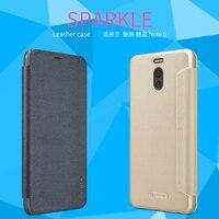 For Meizu M6 Note Case Original NILLKIN Sparkle Flip Leather Phone Cases For Meizu M6 Note