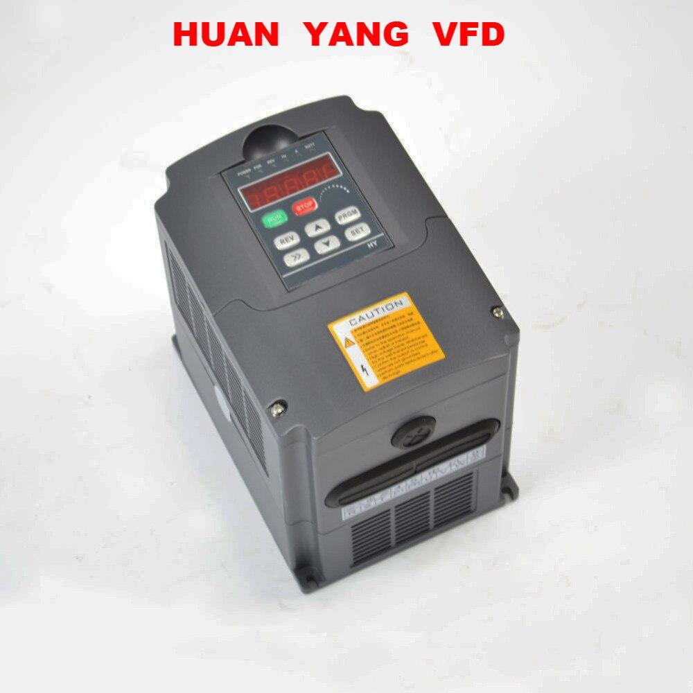 NEW 2.2KW 3HP VFD 10A 220V SINGLE PHASE VARIABLE SPEED DRIVE VSD DRIVE INVERTER