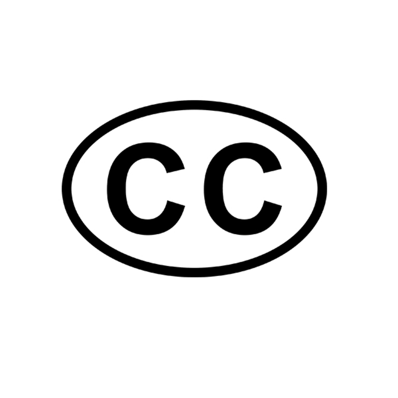 CC Consular Corps Country Code Oval JDM Reflective Vinyl