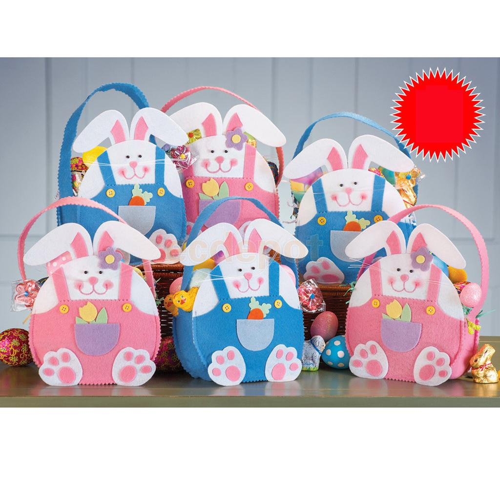 online get cheap wall candy aliexpresscom  alibaba group - handmade easter ms rabbit candy sweet bag wall door hanging decor colors(china