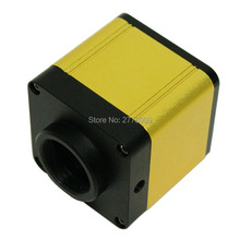 Buy online Free Shipping Full HD 1080P 60fps HDMI  Industrial Digital Microscope Camera Supports C CS Lens Trinocular Microscope