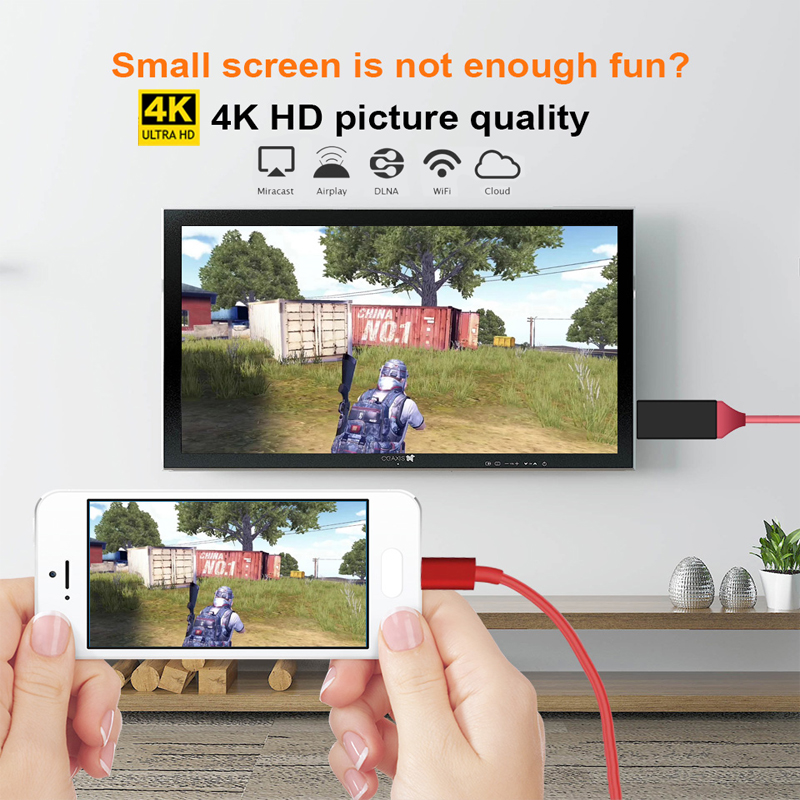1PCS 128M m2 ezcast miracast AirPlay Crome Cast Cromecast HDMI TV US