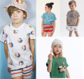2017 New Summer Bobo Choses Baby T Shirt Tee Top For Boys Girls Tops Tee Baby Kids baby Children Clothing Bebe Menino Vestidos