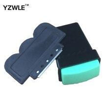 YZWLE 1 Компл. Высокое качество Искусства Ногтя DIY Резиновые Пластиковые Искусства Ногтя Штамповка Stamp Средства Зачистка Набор Ножей(China (Mainland))