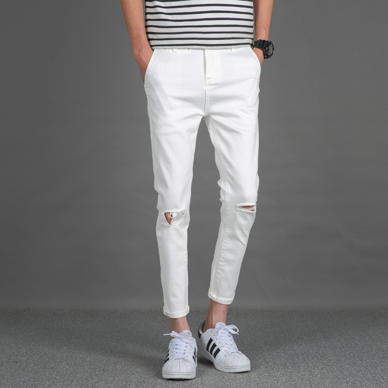 Online Get Cheap White Jeans Mens -Aliexpress.com | Alibaba Group