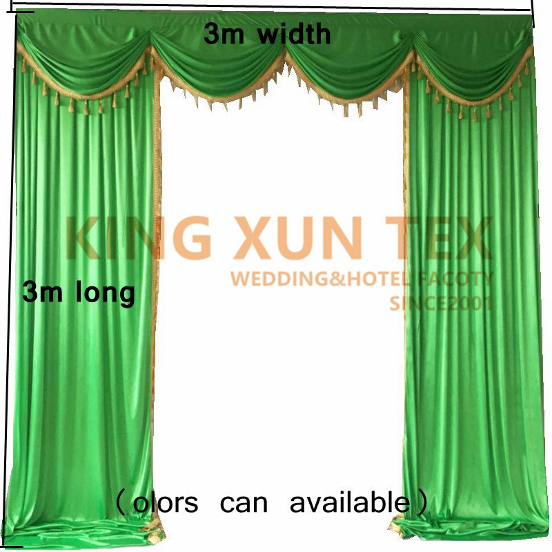 Backdrop Drape Swag With Tassel Valance For Wedding Backdrop Curtain DecorationBackdrop Drape Swag With Tassel Valance For Wedding Backdrop Curtain Decoration