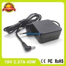 19 В 2.37A адаптер переменного тока ноутбука зарядное устройство для Asus Zenbook UX21A UX32 UX32A UX30 UX301 UX30KA UX303LA UX32LA UX30KU Ultrabook ЕС Plug