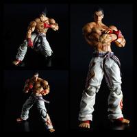 PLAY ARTS 25cm Tekken KAZUYA MISHIMA Action Figure Model Toys
