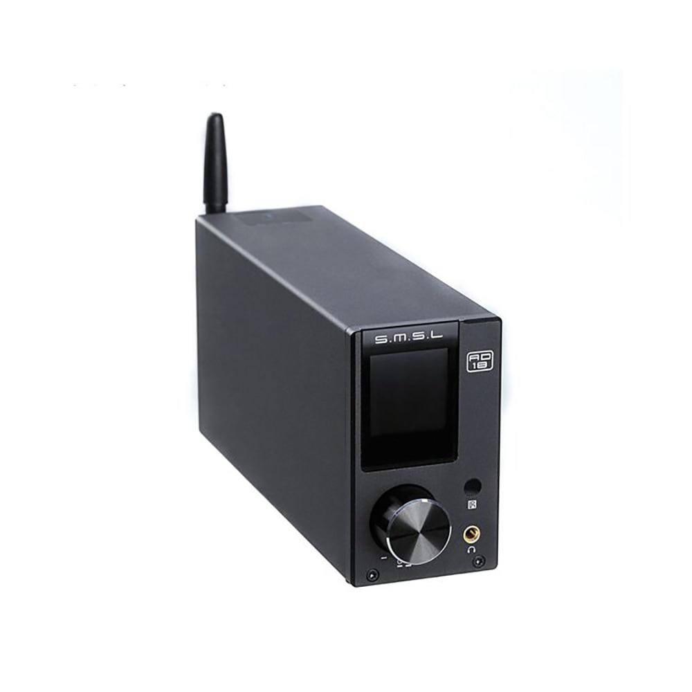 SMSL AD18 Bluetooth 4 2 80W2 USB DSP HIFI Digital Decoding Power Amplifier