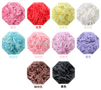 500g shredded crinkle cut paper Hamper Candy Cases Vase Soap Gift Box Filler Raffia Ribbon Shred Paper Crinkle Cut