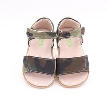TipsieToes zapatos de verano para niños, sandalias de Punta cerrada, descalzos, 2020