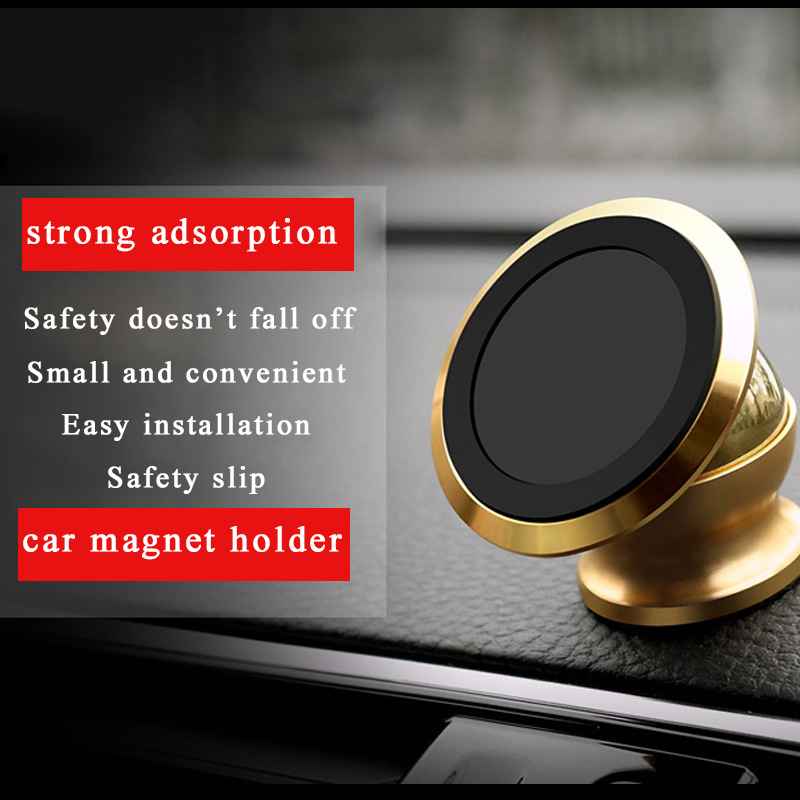Universal Car Holder Windshield Magnetic phone holder Mount Magnet GPS Stand 360 Degree Rotatable For iPhone X 8 Samsung GPS