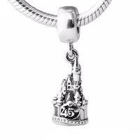 Fits pandora Bracelets & Necklace Chef Mickyt Pendant Mouse charms Original 925 Sterling Silver For woman Bracelet DIY Wholesale