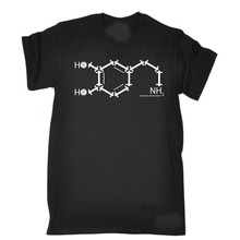 Print T-Shirt Summer Style NH2 Chemical Formula MENS SWPS T-SHIRT birthday workout gymer trainer fitness O-Neck Tops Free