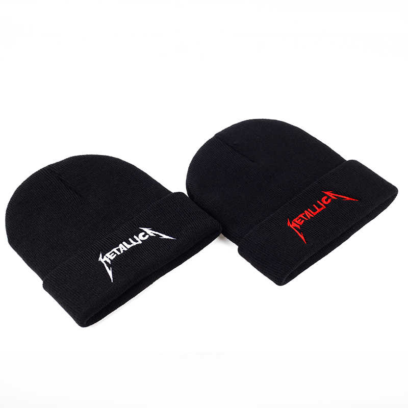... VORON 2017 red cap band Metallica European and American Rock Music  winter hat High Quality Warm f8719110d596