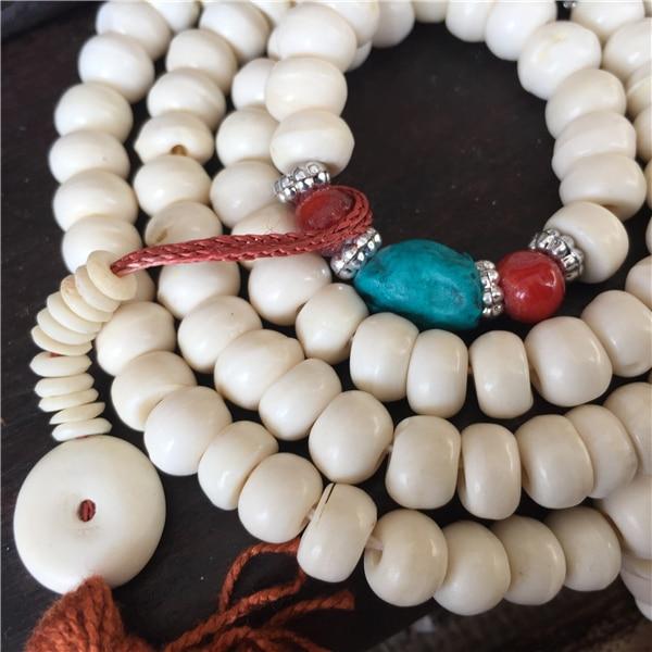 Traditional Tibetan Style Yak Bone Beads Mala 2