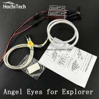 HochiTech Excellent CCFL Angel Eyes Kit Ultra Bright Headlight Illumination For Ford Explorer 2011 2012 2013