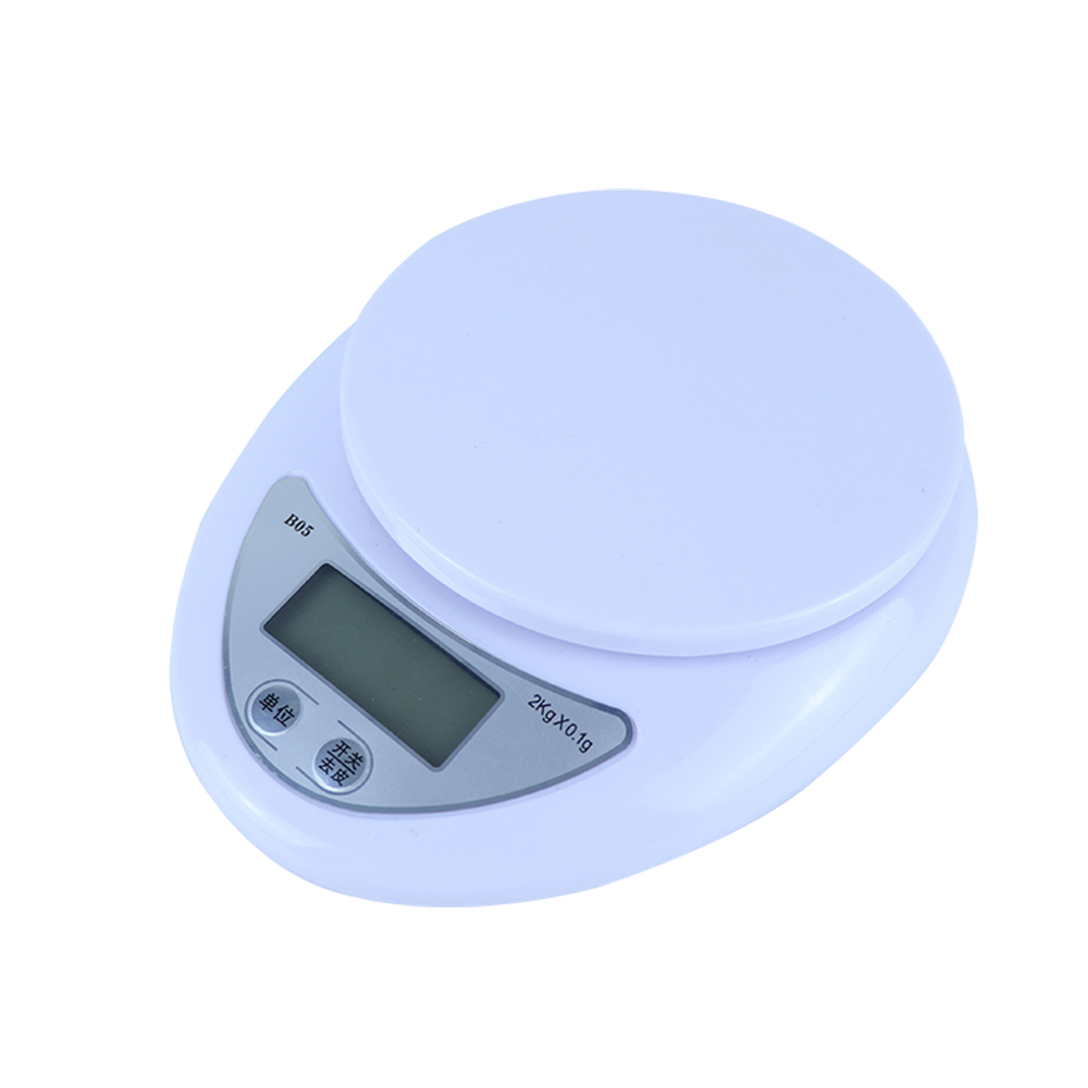 5kg/1g 2kg/0.5g Portable Digital Scale LCD Electronic Scales Postal Food Measuring Weight Kitchen LED Electronic Scales