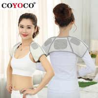 COYOCO Brand Self-heating Belt Back Support Shoulder Guard Bamboo Charcoal Brace Gym Sport Injury Back Pad Belts Keep Warm
