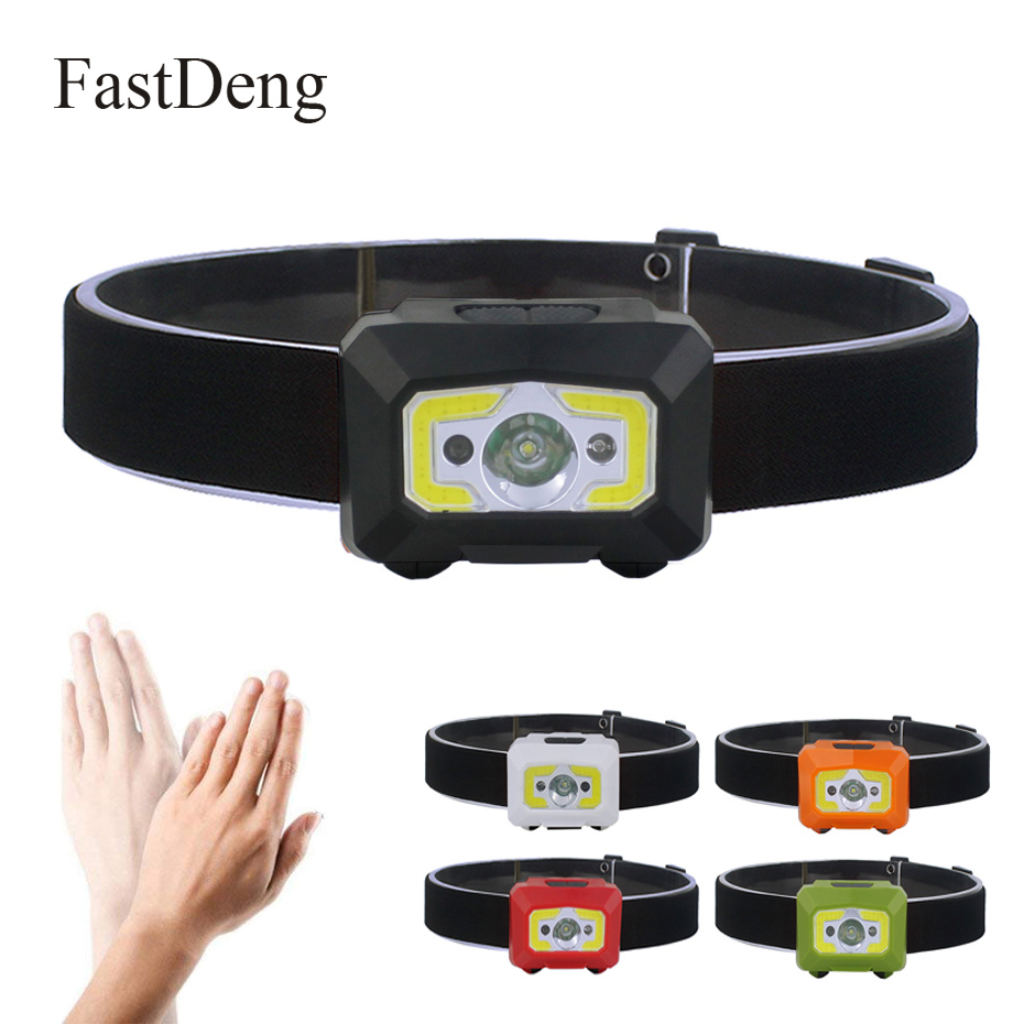 LED Body Motion Sensor Headlamp COB Mini Headlight Rechargeable Outdoor Camping Flashlight Head Torch Lamp With USBLED Body Motion Sensor Headlamp COB Mini Headlight Rechargeable Outdoor Camping Flashlight Head Torch Lamp With USB