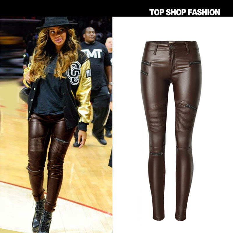 Online Get Cheap Brown Leather Leggings -Aliexpress.com | Alibaba ...