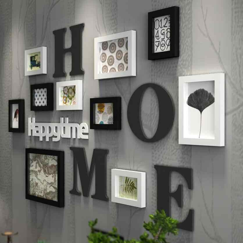 Multi Frame European Stype Home Design Wedding Love Photo Frame Wall