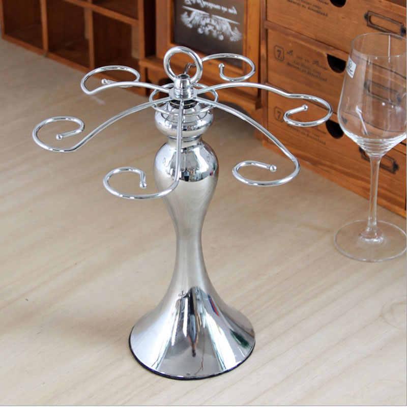 Европейский металлический художественный держатель винного бокала креативные настройки таблицы держатель бутылки домашний Декор Ремесло