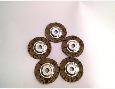 Doprava zdarma 10ks / sada ocelové jádro měkké 120 # zrno 100 * 16MM klapkové kotouče pro kotoučové brusky na broušení andělů