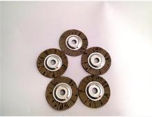 Free shipping of 10pcs/set steel core soft 120# grit 100*16MM flap discs wheels for angel grinder steel metal polishing sanding