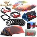 KnightX 24 Фильтр 9 Кольцо цвета fpr cokin серии p цветной фильтр для nikon d5300 d3300 d3200 d5100 d5500 canon 600d 700d 550d 550