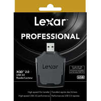 100% Original Lexar Professional XQD 2.0 USB 3.0 Card Reader High Speed 1400x/2933x USB3.0 Performance