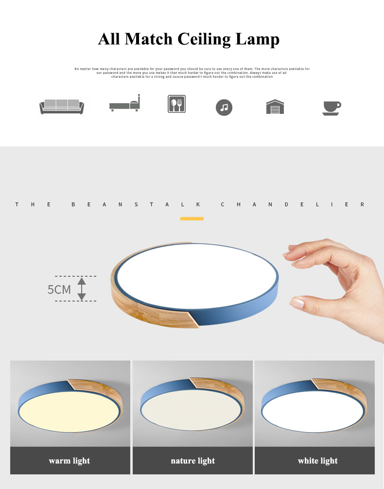 HTB1s3XOB5OYBuNjSsD4q6zSkFXaG Nordic Oak App Dimmable Led Ceiling Lights Living Room Round Multicolor Alloy Led Ceiling Lamp Bedroom Led Ceiling Light Fixture