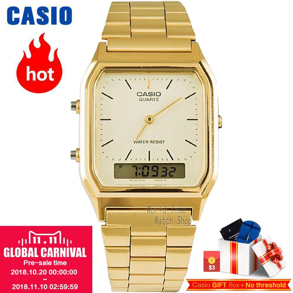 Casio watch Casual fashion trend of sports neutral simple watches AQ-230GA-9D AQ-230GA-9B AQ-230A-7D AQ-230A-7B AQ-230A-1D колье цепь aq 2015 zn010