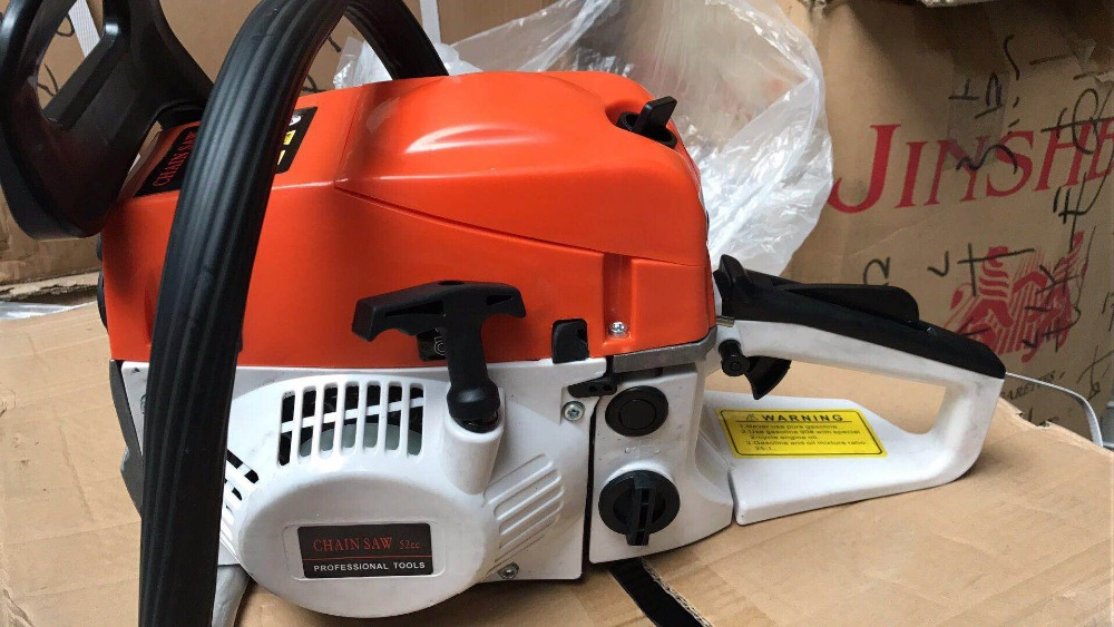 PROFESSIONAL 52CC,2.2KW CHAIN SAW,PETROL CHAINSAW , CHAIN SAWS WTH BEST PRICE FROM CHINESE ORIGINAL FACTORY SELLINHG DIRECTLY