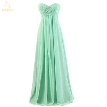 Bealegantom Long Chiffon Prom Dresses 2018 Sweetheart Formal Evening Party Gowns Robe De Soiree QA1506