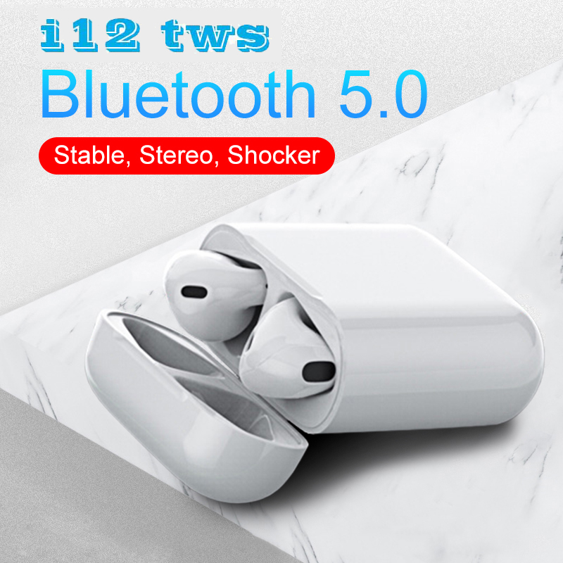 I12 TWS i10 Bluetooth Earphone Wireless Earphones With Touch Control Calling Headset Head