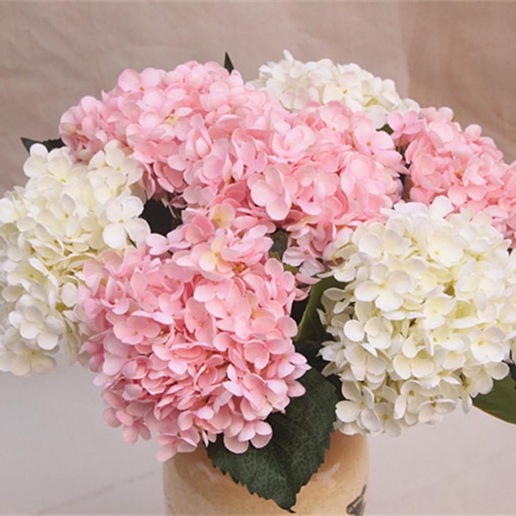 seda artificial hydrangea bouquet arreglo de flores inicio boda decoracin de mainland