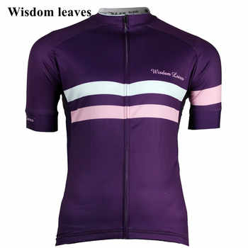 Wisdom Leaves 2017 Men cycling jersey t-shirt roupa Women bike maillot ciclismo equipos Team cycling clothing camisa ciclismo - DISCOUNT ITEM  0% OFF All Category
