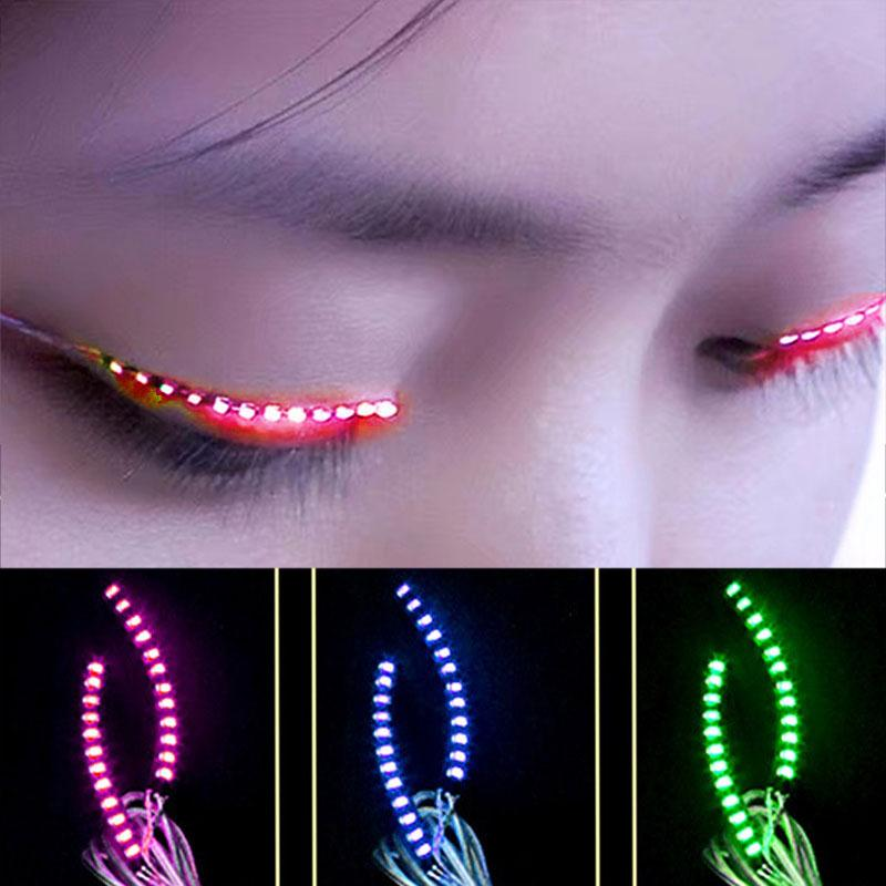 a4cd36210a0 Focallure Women Flashes LED False Eyelashes Luminous Electronic ...