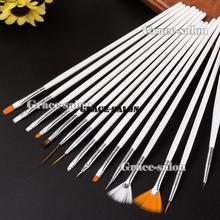 15 шт кисти для нейл-арта, раскрашивающаяся ручка для рисования, УФ гель-дизайн, Маникюрный Инструмент